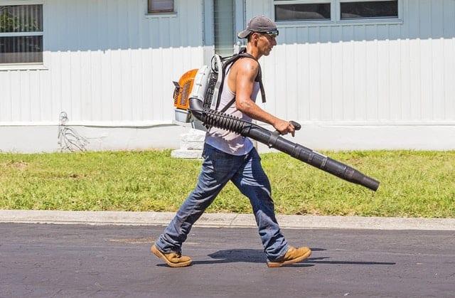 leaf blower vacuum mulcher